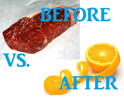 fruitarian before and after