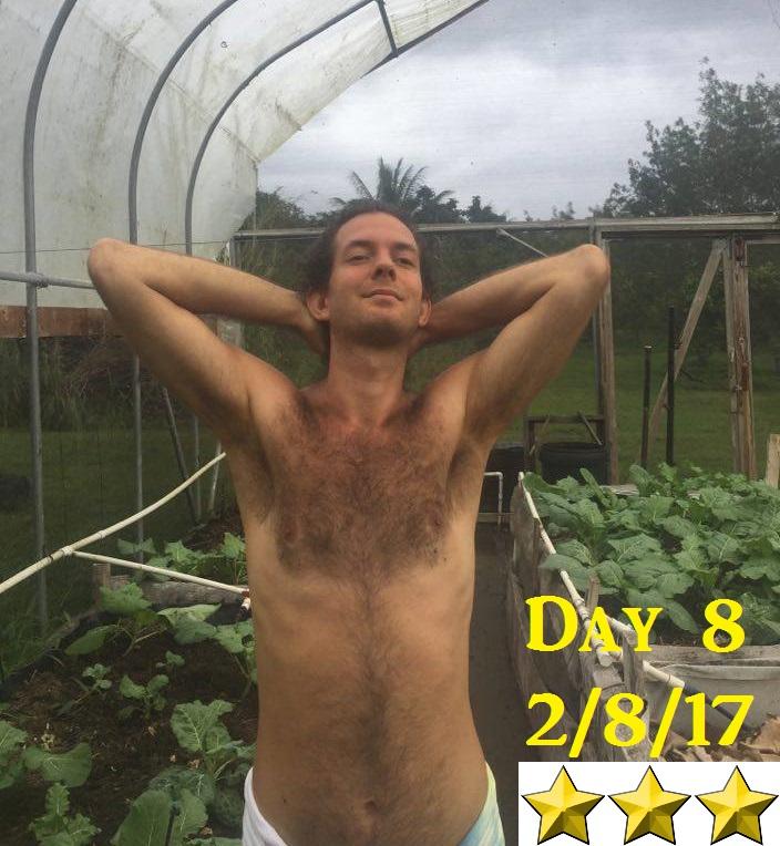 fruitarian bodybuilding challenge 8