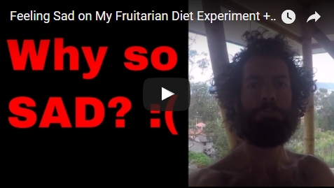 Feeling Sad on My Fruitarian Diet Experiment + Writing My Fruitarian Book
