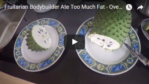 Fruitarian Bodybuilder Ate Too Much Fat - Overeating & Not Sleeping Well - Need Intermittent Fasting