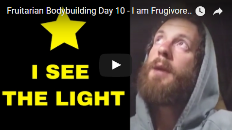 Fruitarian Bodybuilding Day 10 - I am Frugivore - Fruitarian Diet Experiments with an All Fruit Diet